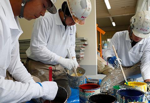 工場、倉庫の外壁塗装、屋根塗装、雨漏り補修、塗床ウチックス