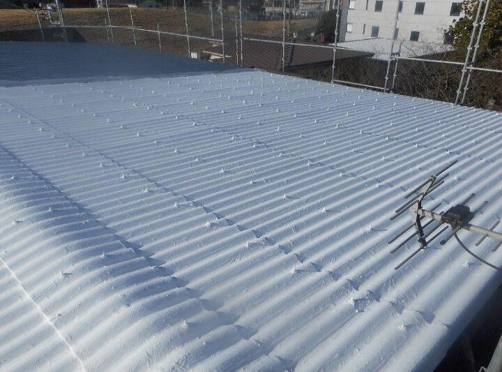 株式会社S様 屋根外壁アスベスト封じ込め強度UP遮断熱塗装工事