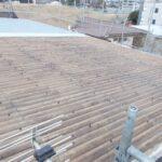 株式会社S様 屋根外壁アスベスト封じ込め強度UP遮断熱塗装工事ビフォー