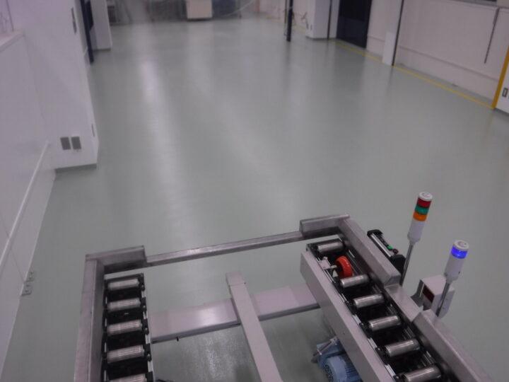 加工工場の 塗り床塗装工事 H様|栃木のウチックス